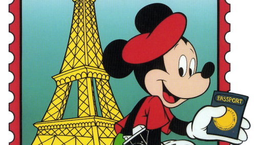 To my husband, Mickey Mouse is French
