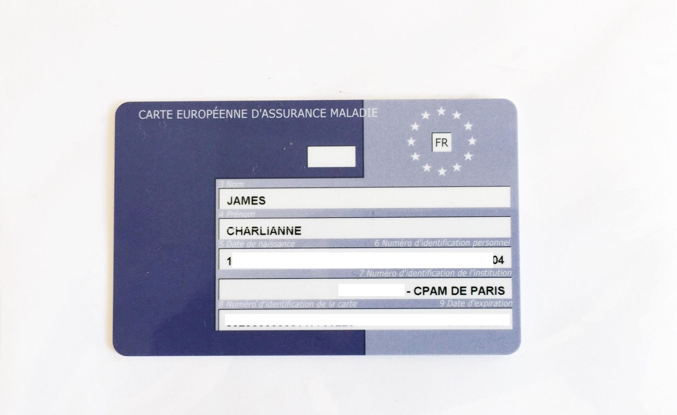 demande carte européenne d assurance maladie par internet How to Get Your Securité Sociale & Carte Vitale in France – Am I